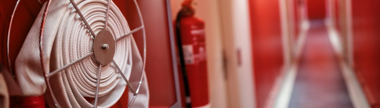 Fire Extinguisher in the hall